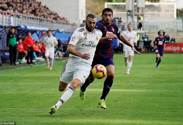 Real Madrid quyết phục hận Eibar và áp lực của HLV Zidane - 3
