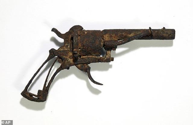 Khẩu súng danh họa Van Gogh dùng để tự sát có giá ước tính 1,5 tỷ đồng - 1
