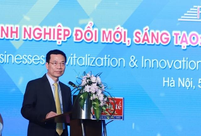 Bộ trưởng Nguyễn Mạnh Hùng: Muốn đổi mới thành công ở thời đại 4.0... phải làm ngược - 1