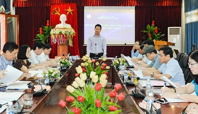Chủ tịch tỉnh chỉ trích lãnh đạo Trường ĐH Hà Tĩnh buông lỏng quản lý cơ sở vật chất - 4