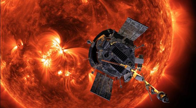 Tàu thăm dò năng lượng của NASA đang tiến cực sát Mặt Trời - 1