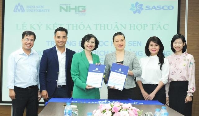 SASCO ký kết hợp tác đào tạo, nghiên cứu khoa học với trường đại học - 1