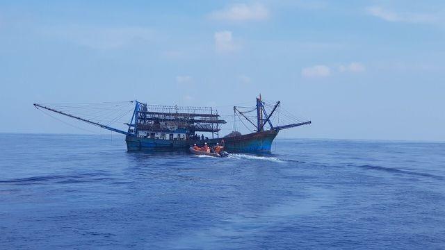 Cấp cứu thuyền trưởng tàu cá Quảng Nam bị thương, bất tỉnh - 1