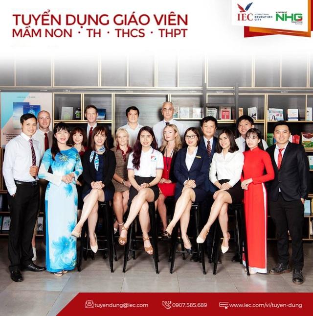 Thành phố Giáo dục Quốc tế Quảng Ngãi sôi động tuyển dụng ứng viên tài năng - 1