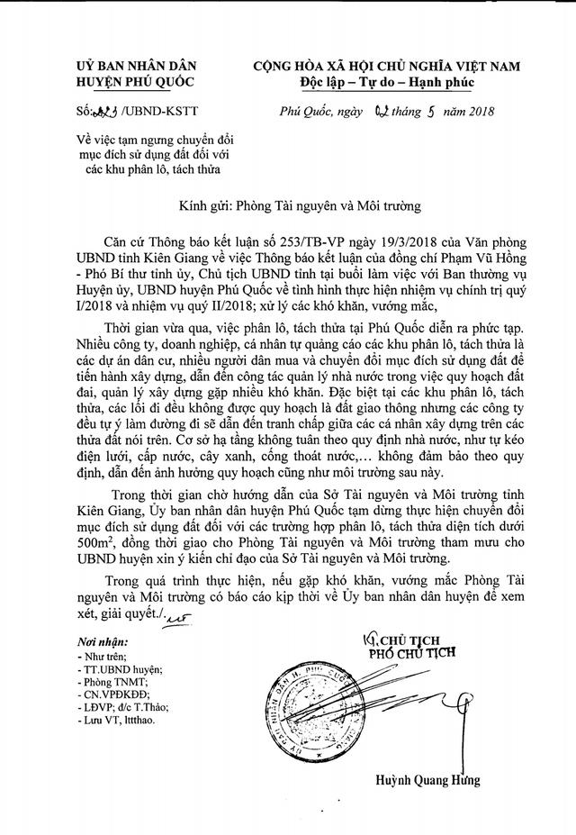 """""""Đảo ngọc"""" Phú Quốc bị băm nát: Sai phạm khủng đang biến tướng như thế nào? - 2"""