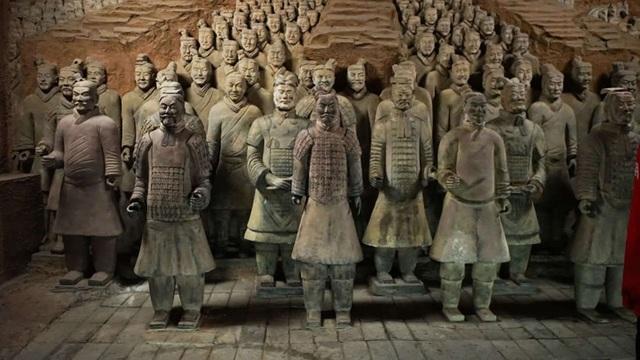 Bí mật đằng sau những vũ khí nghìn năm của đội quân đất nung Tần Thuỷ Hoàng - 1