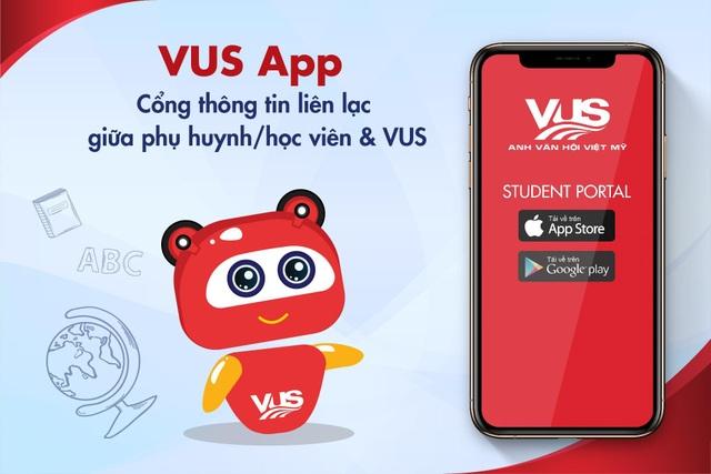 VUS ra mắt cổng thông tin liên lạc với phụ huynh và học viên - 1