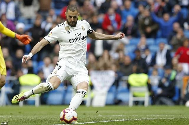Benzema giúp Real Madrid thắng trận thứ ba thời HLV Zidane - 5
