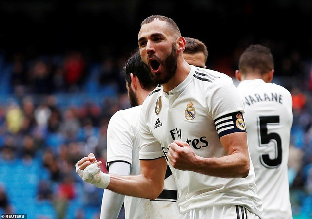 Benzema giúp Real Madrid thắng trận thứ ba thời HLV Zidane - 9