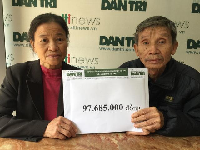Gần 98 triệu đồng đến với gia đình bác Mỳ có 3 con bị ung thư - 2