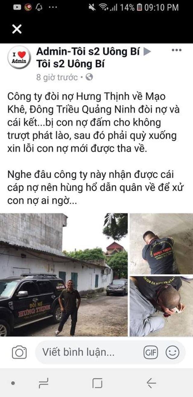 Từ thành phố HCM đi xe ô tô ra Quảng Ninh đòi nợ thuê bị con nợ đánh trọng thương - 1