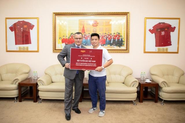 U23 Việt Nam sẽ là thượng khách tại Four Points by Sheraton Đà Nẵng - 1