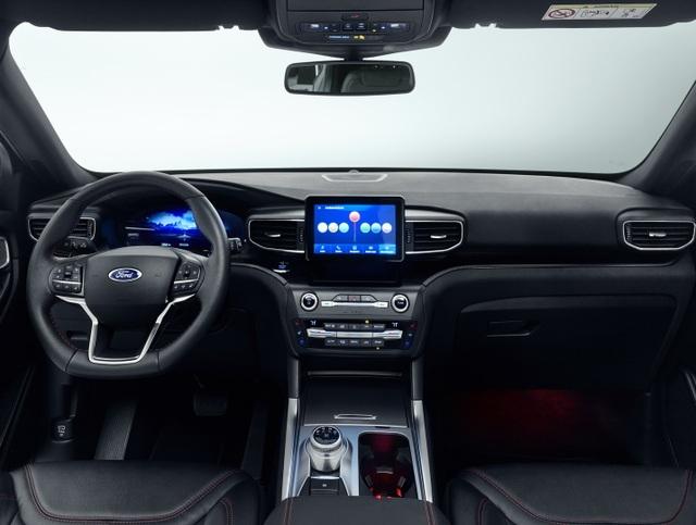 Ford giới thiệu Explorer phiên bản hybrid sạc điện - 4