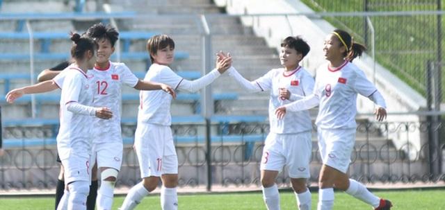 Đội tuyển nữ Việt Nam sớm giành vé vào vòng loại thứ 3 Olympic 2020 - 2