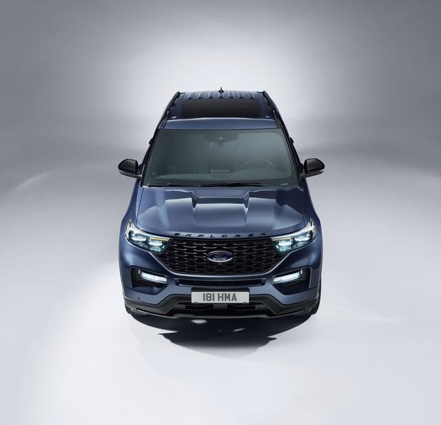 Ford giới thiệu Explorer phiên bản hybrid sạc điện - 5