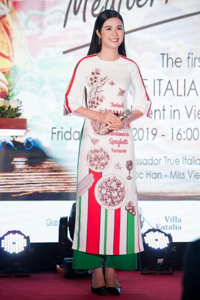 Hoa hậu Ngọc Hân được Italy phong danh hiệu Đại sứ ẩm thực - 5