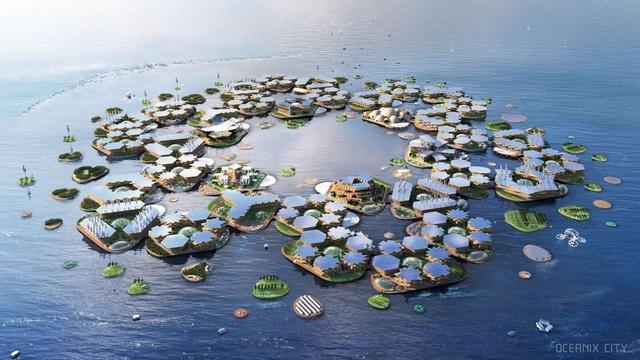 Thành phố nổi: Tương lai của con người khi các bờ biển đã bị nhấn chìm! - 1