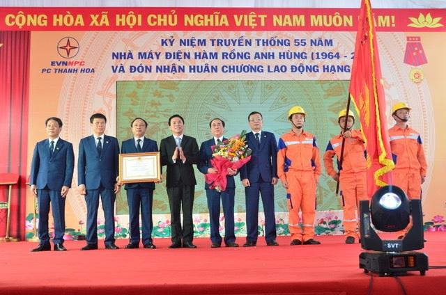 Công ty điện Thanh Hoá đón Huân chương Lao động hạng Nhất - 3