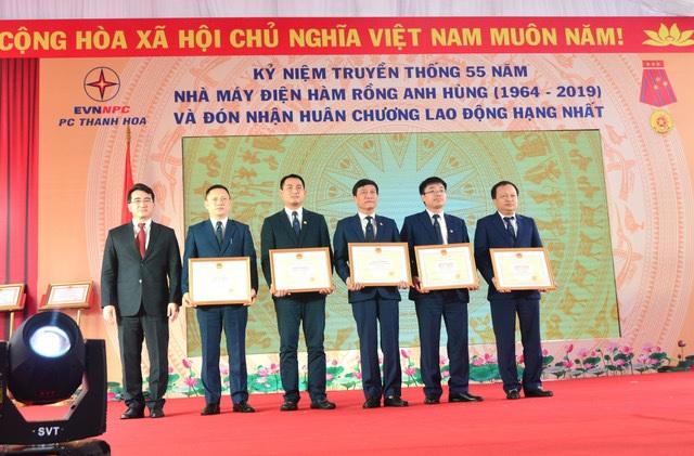 Công ty điện Thanh Hoá đón Huân chương Lao động hạng Nhất - 4