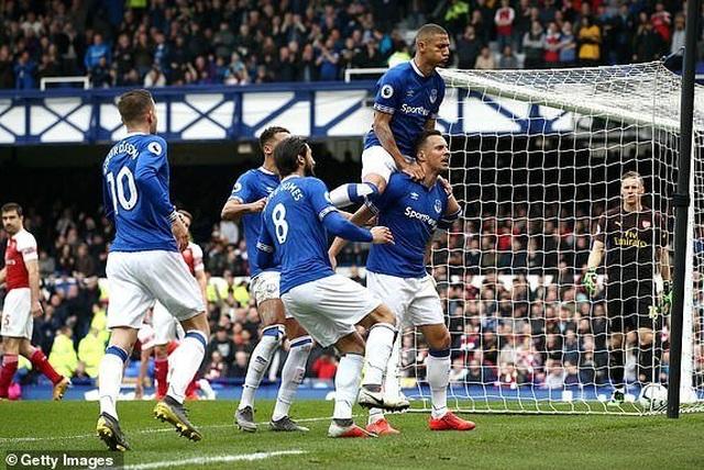 Everton 1: 0 Arsenal: Bitter left to Gunners - 2