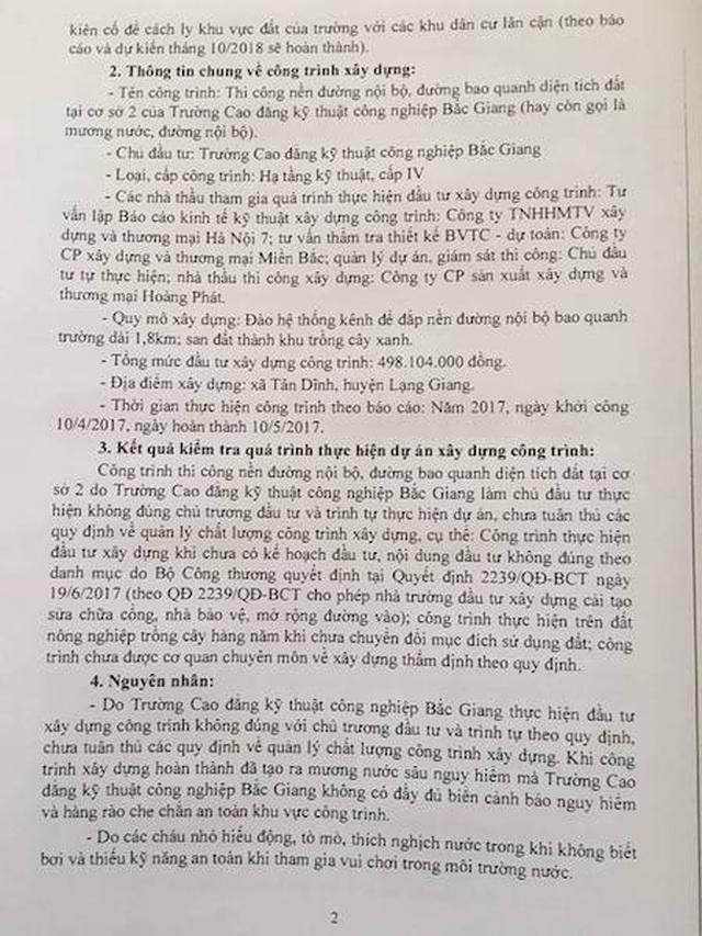 3 cháu bé chết oan ức tại Bắc Giang: Sai phạm dẫn đến tội ác được bao che trắng trợn? - 3