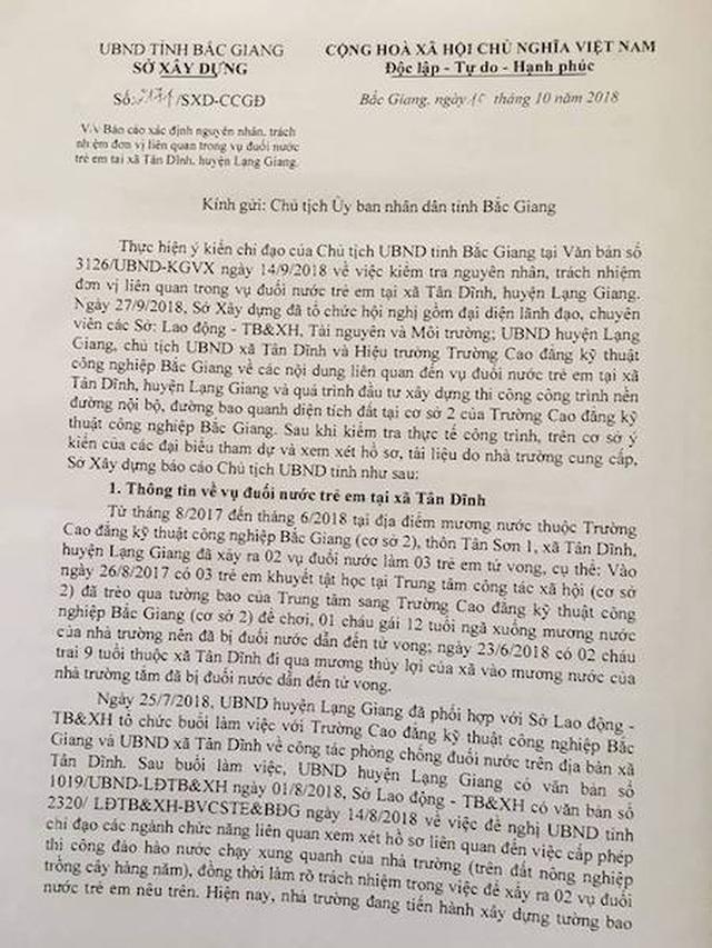 3 cháu bé chết oan ức tại Bắc Giang: Sai phạm dẫn đến tội ác được bao che trắng trợn? - 2