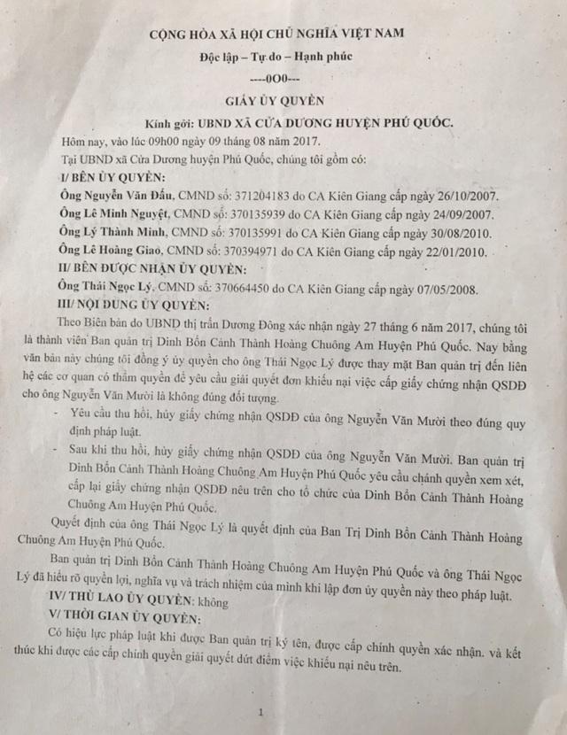"""Vụ """"xẻo"""" gần 17.000m2 đất chùa cấp cho cá nhân: UBND tỉnh Kiên Giang nói gì? - 3"""