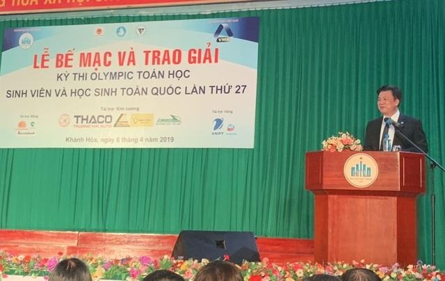 Bế mạc và trao giải kỳ thi Olympic Toán học tại Nha Trang - 1
