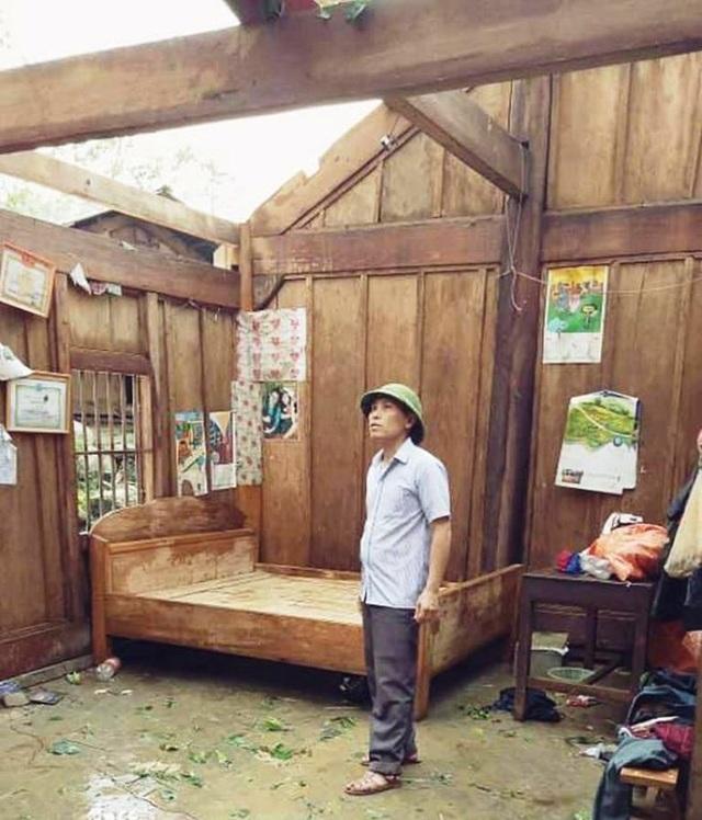 Bộ đội giúp dân khắc phục hậu quả mưa đá, lốc xoáy - 5