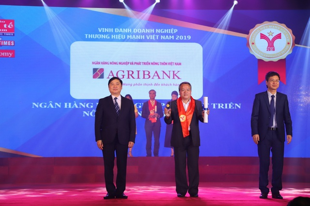Agribank tự hào được vinh danh Thương hiệu mạnh Việt Nam 2018 - 1