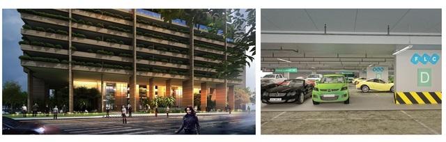 Khu đỗ xe thông minh – Thiết kế độc đáo trong dự án nghìn tỷ FLC Green Apartment - 1
