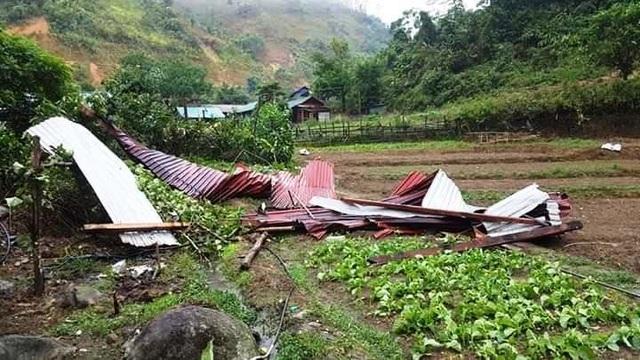 Trường học tan tác sau trận bão lốc trong đêm - 11