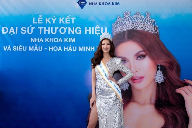 Hoa hậu siêu quốc gia châu Á trở thành đại sứ thương hiệu nha khoa Kim - 2