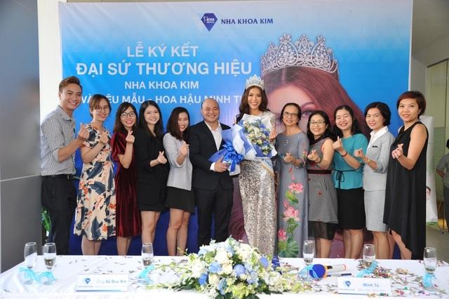 Hoa hậu siêu quốc gia châu Á trở thành đại sứ thương hiệu nha khoa Kim - 3