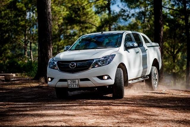 Mazda BT-50 chiếm vị trí số 2 phân khúc bán tải - 2