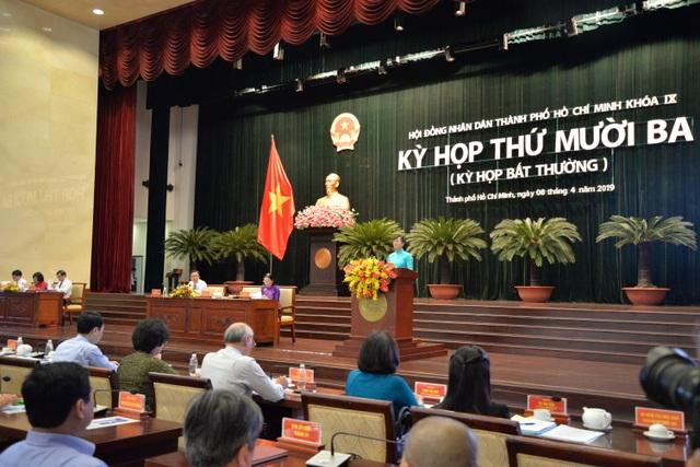 Khai mạc kỳ họp bất thường bầu tân Chủ tịch HĐND TPHCM - 1