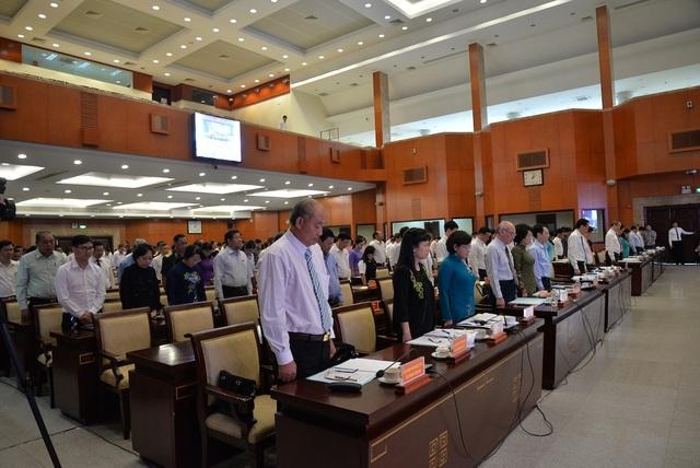 Khai mạc kỳ họp bất thường bầu tân Chủ tịch HĐND TPHCM - 2