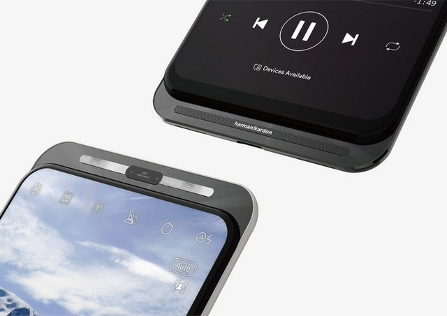 """Lộ ảnh smartphone thiết kế độc đáo không viền màn hình, không """"tai thỏ"""" của Asus - Ảnh minh hoạ 2"""