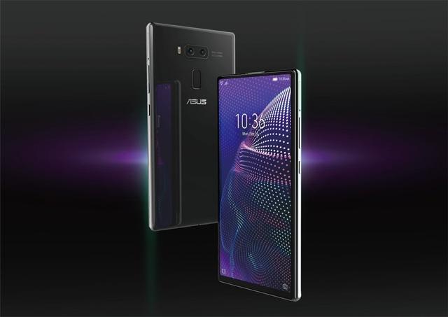 """Lộ ảnh smartphone thiết kế độc đáo không viền màn hình, không """"tai thỏ"""" của Asus - Ảnh minh hoạ 3"""