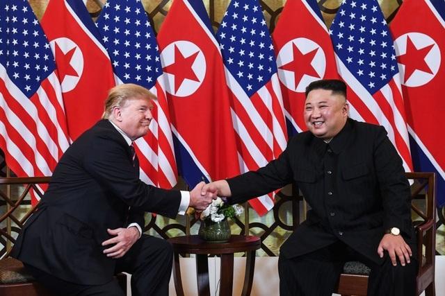 """Tổng thống Trump: """"Mối quan hệ của tôi với ông Kim Jong-un rất tốt"""" - 1"""