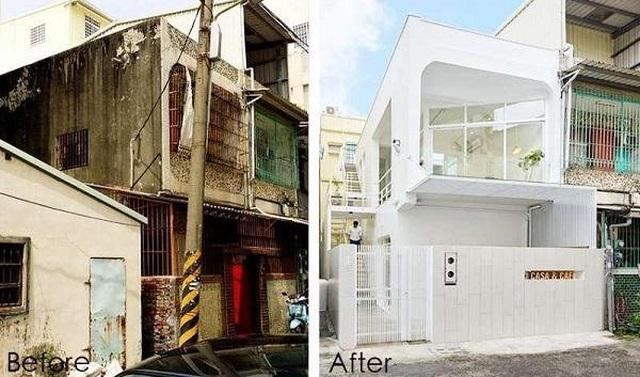 Ngôi nhà xập xệ 40 năm tuổi  lột xác thành không gian sống lý tưởng - 1