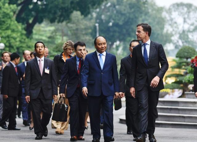 Thủ tướng Nguyễn Xuân Phúc chủ trì lễ đón chính thức Thủ tướng Hà Lan - 6