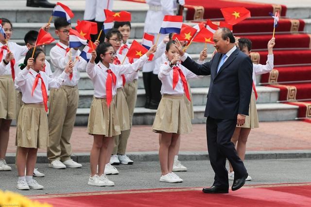 Thủ tướng Nguyễn Xuân Phúc chủ trì lễ đón chính thức Thủ tướng Hà Lan - 1