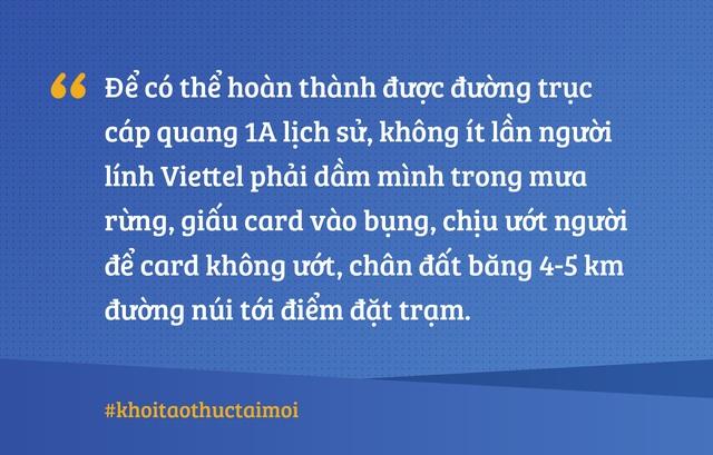 Dãy nhà lụp xụp, đường trục cáp quang lịch sử và ý chí của những người Viettel đời đầu - 3