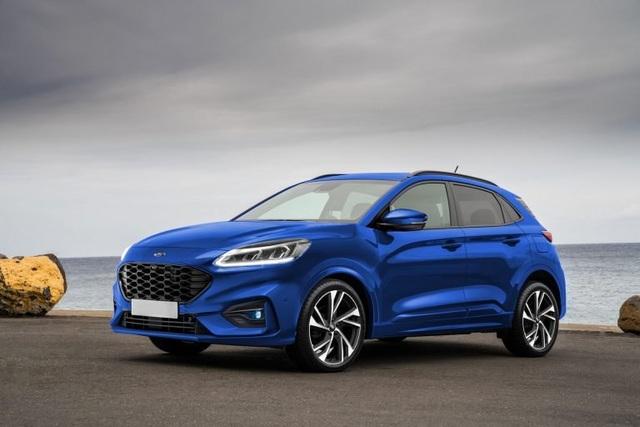 Ford chuẩn bị trình làng mẫu crossover giá rẻ Puma - 1