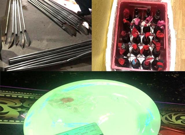 """Quán karaoke chứa """"bom xăng"""", """"dao phóng lợn"""" và ma tuý - 2"""