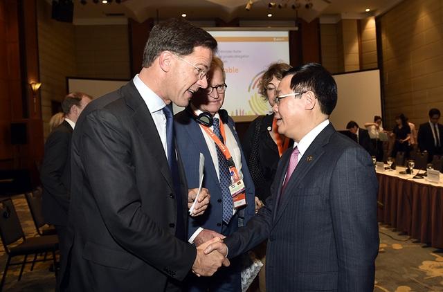 """Thủ tướng Hà Lan """"ghen tị"""" với sự tăng trưởng kinh tế của Việt Nam - 1"""