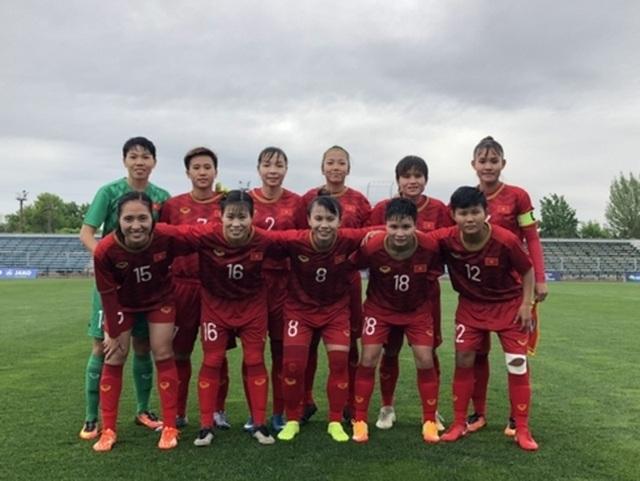 Thắng dễ Jordan, đội tuyển nữ Việt Nam vào vòng loại thứ 3 Olympic 2020 - 1