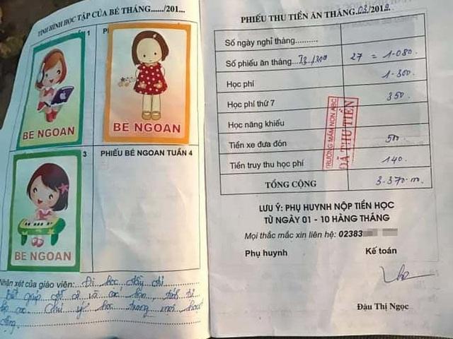 Bé 5 tuổi bị trường thông báo ngừng nhận vì thiếu tiền đóng học 14 tháng? - 3