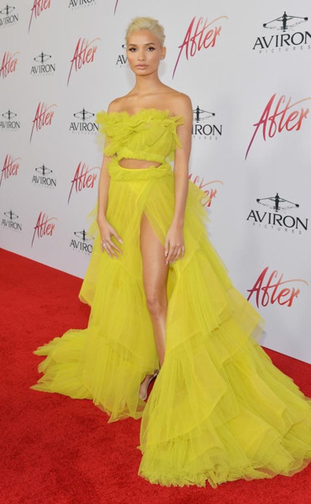 Pia Mia rực rỡ với váy vàng kiêu sa - 6